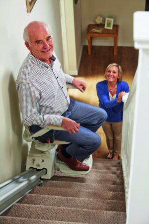 Stair Lift (Star Medical and Bed Rentals)